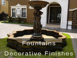 Fountains Decorative Finishes