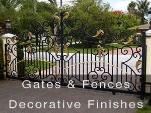 Gates & Fences Decorative Finishes