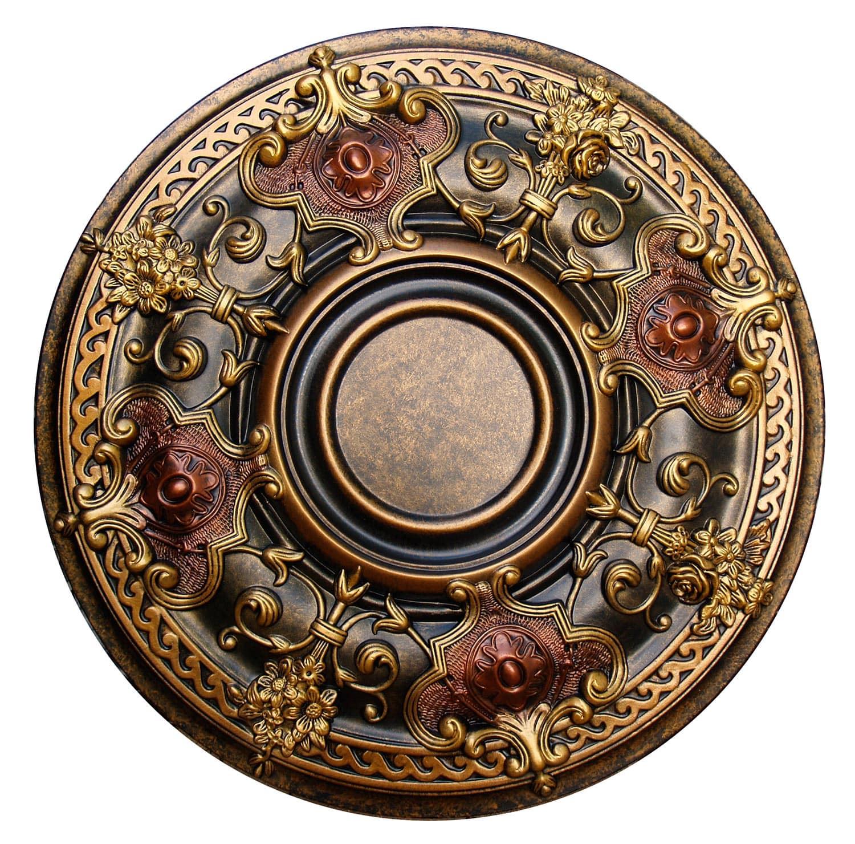 Ceiling Medallion Shady Impression 28 1 8 In Ccmf 035 2